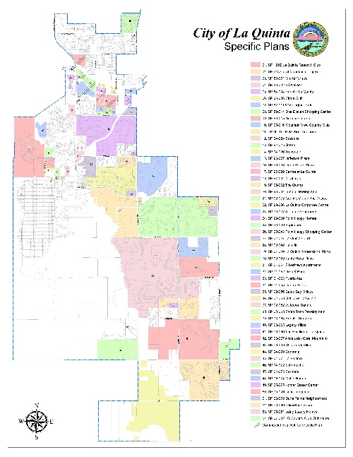 Planning Division Maps La Quinta CA - Southern california map la quinta