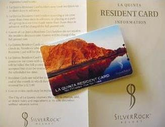 Resident Card & Instructions