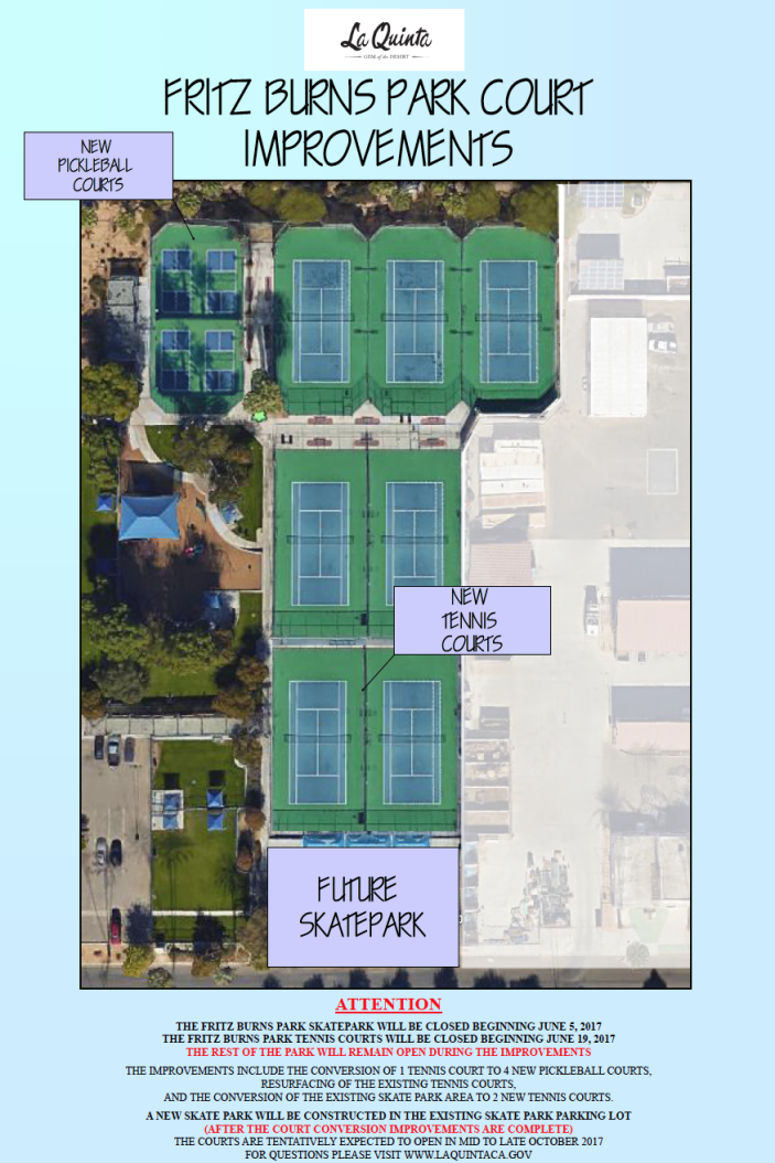 Fritz Burns Tennis Courts