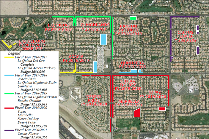 Tax Measure La Quinta CA - Southern california map la quinta