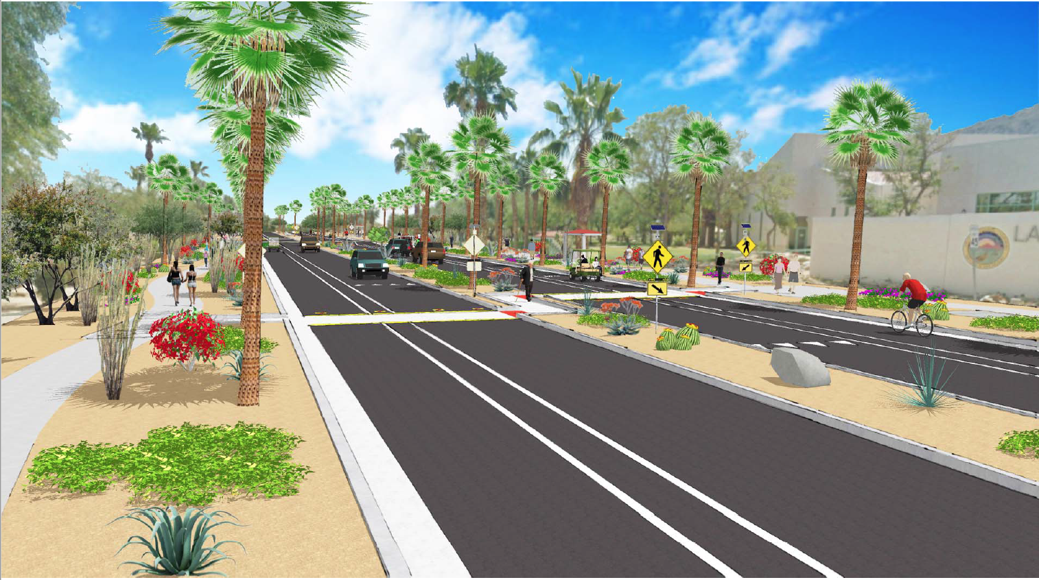 Complete Streets rendering