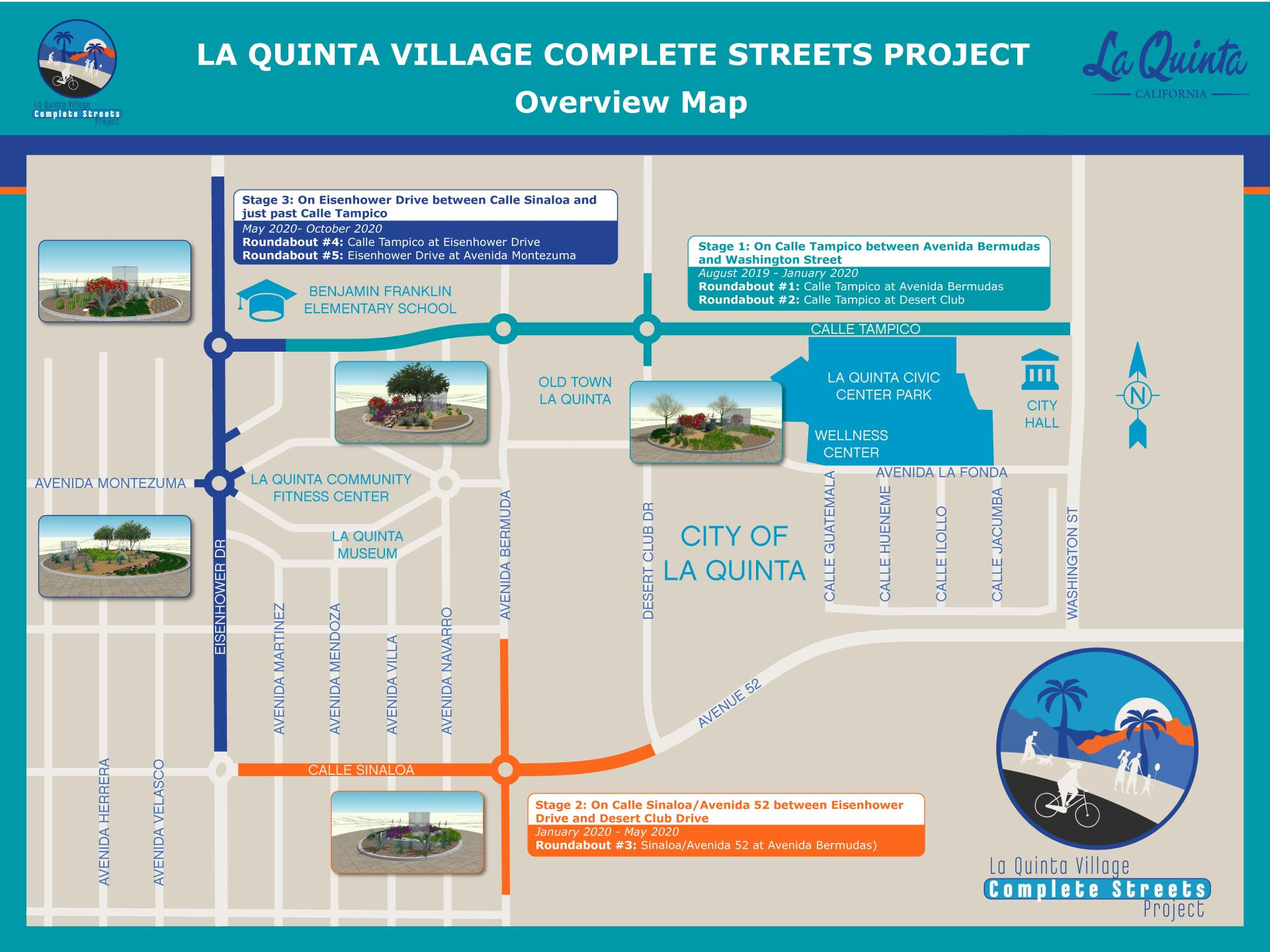 Complete Streets Project Overview Map
