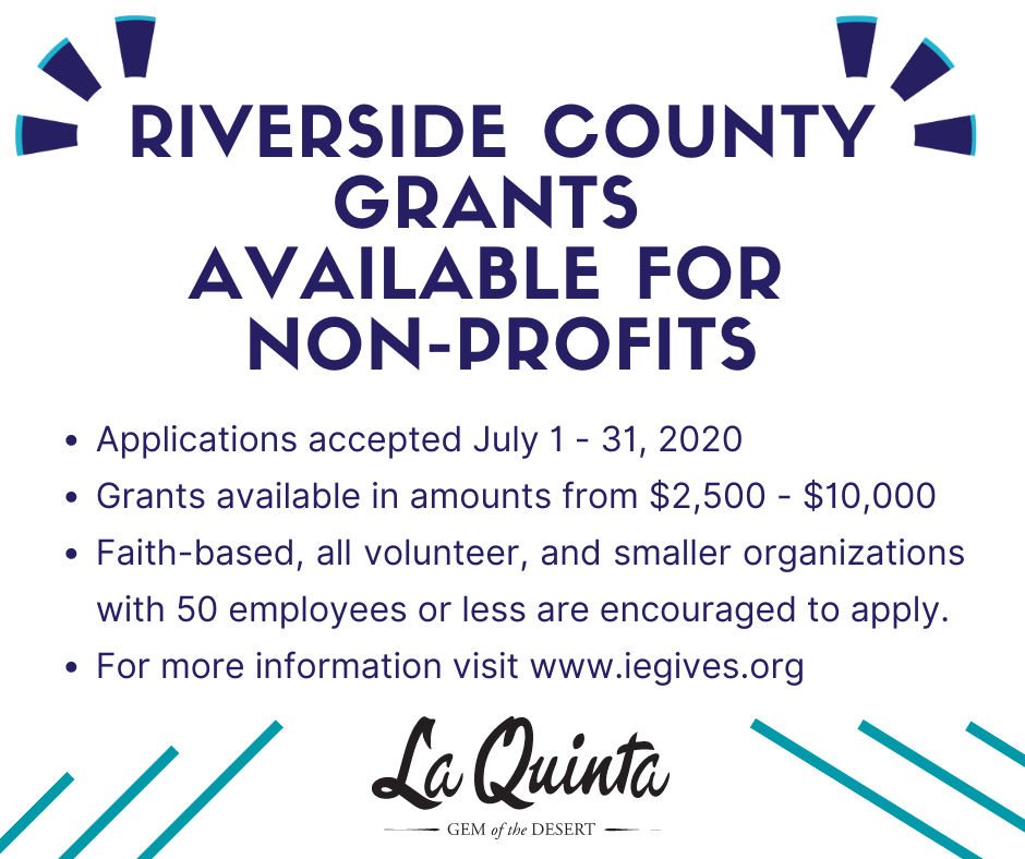 Non-Profit Grants