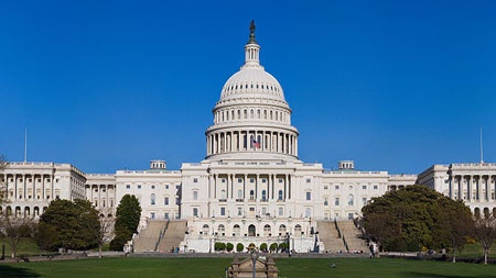 Photo  of the United States Capitol  building in Washington, D.C.